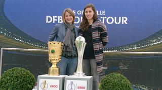 DFB-Pokal-Tour 2017: Zwei Pokale, eine Stadt