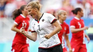 DFB-Frauen trotz Niederlage im Viertelfinale