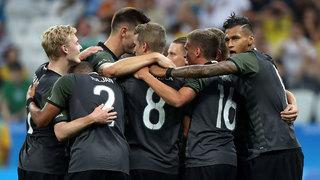 Olympisches Halbfinale Deutschland vs. Nigeria