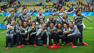 Olympisches Finale: Deutsche Frauen holen Gold