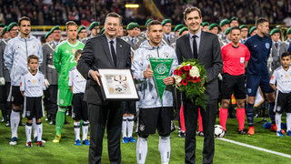 Lukas Podolski: Emotionaler Abschied in Bildern