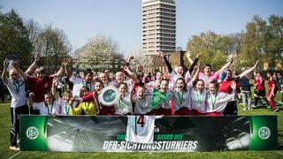 Hessen feiert den Turniersieg beim Länderpokal/Sichtungsturnier