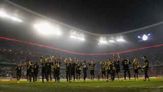 Zweites Halbfinalspiel: Dortmund feiert in München