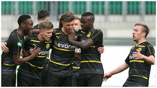 A-Junioren-Halbfinale: Wolfsburg gegen Dortmund