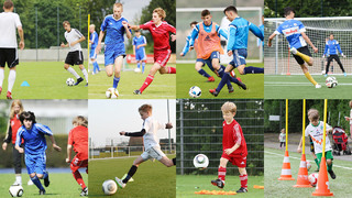DFB-Training online: Spaß und Spannung dank kleiner Wettkampfspiele