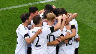 Die Mannschaft beim Confed Cup in Russland