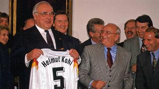 Helmut Kohl und die Nationalmannschaft