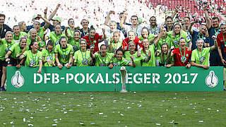 2:1 gegen Sand: Wolfsburg erneut Pokalsieger