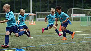 Mein Fußball: Kondition bolzen mit Kindern?