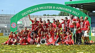 FC Bayern München zum fünften Mal Deutscher B-Junioren-Meister
