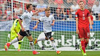 Meyer ist Spieler des Tschechien-Spiels