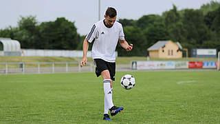 Jonglier-Kreisel für ein besseres Ballgefühl