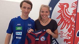 Potsdam verpflichtet Nina Ehegötz