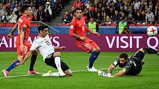 Stindl ist Spieler des Chile-Spiels