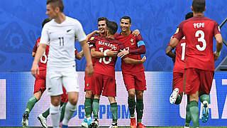Portugal und Mexiko im Halbfinale