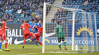 0:1 in Rostock: Halle verpasst Sprung auf Platz drei