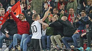 Podolski: Auch zum Abschluss Fanliebling