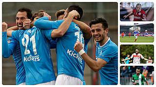 Stuttgarter Kickers freuen sich auf Inter Mailand