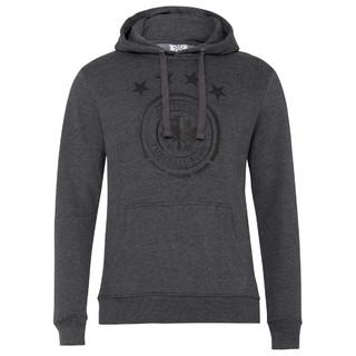 Hoodie Logo Grau Melange