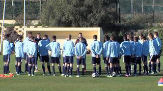 Impressionen vom Trainingslager  der U 16-Junioren