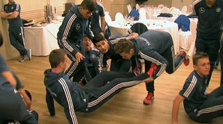 Teambuilding bei den U 17-Junioren