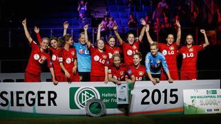 Die Highlights vom DFB-Hallenpokal in Magdeburg