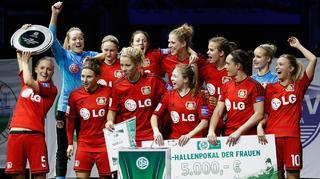 Impressionen des DFB-Hallenpokals 2015