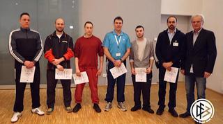 Schiedsrichterausbildung  in der JVA Wittlich