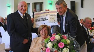 DFB-Ehrenpräsident Egidius Braun feiert 90. Geburtstag