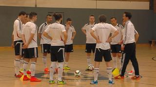 Erster Sichtungslehrgang für die Futsal-Nationalmannschaft