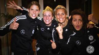 Glückwunsch Celia zum 100. Länderspiel