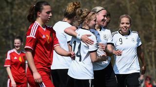 U 19-Frauen: Highlights Deutschland vs. Belgien