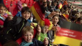 U 16-Junioren: Impressionen vom Länderspiel gegen Frankreich