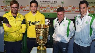 Highlights der PK zum DFB-Pokalfinale 2015