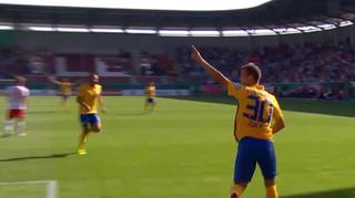Hallescher FC  vs. Eintracht Braunschweig: Die Tore