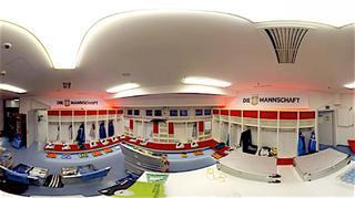 Die Mannschaft - Die Spielerkabine in Leipzig in 360 Grad Ansicht