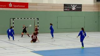 Erster Futsal-Spielbetrieb für Frauen