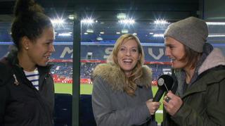 Jule bei den DFB-Frauen: Fan-tastic Moment mit Celia und Natze