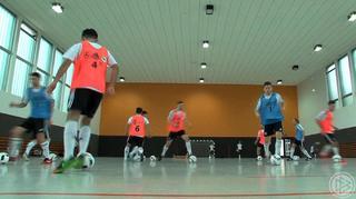 Futsal-Sichtungslehrgang in Kaiserau