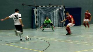 Deutsche Futsal-Meisterschaft: MCH FC Sennestadt vs. VFL 05 Hohenstein-Ernstthal