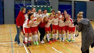 Premiere des WFLV-Frauen-Futsal-Pokal 2016