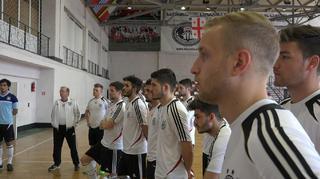 Futsal-Nationalmannschaft: Impressionen aus Georgien