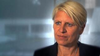 Managerin Doris Fitschen zur Olympia-Vorbereitung