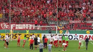 DFB Cup Men: Hallescher FC vs. 1. FC Kaiserslautern - The Goals