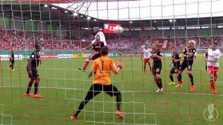 Hallescher FC vs. 1. FC Kaiserslautern:  Die Tore