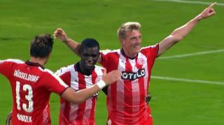 Hansa Rostock vs. Fortuna Düsseldorf:  Die Tore