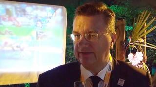 Reinhard Grindel zum olympischen Finale
