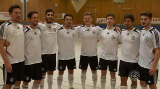 Vor dem ersten Futsal-Länderspiel