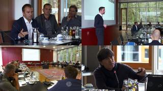 DFB-Trainertagung in Frankfurt