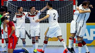 Futsal-Nationalteam siegt beim Debüt